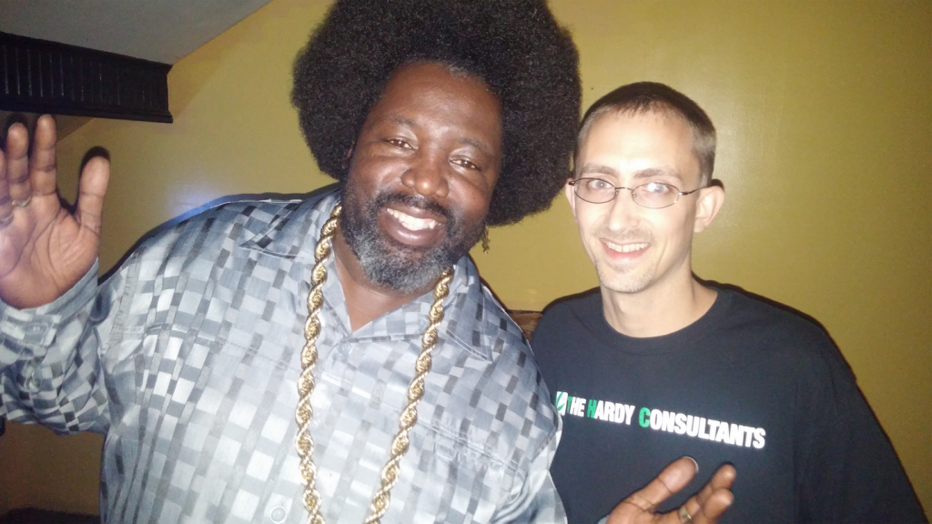 with Afroman at the Mill City Ballroom